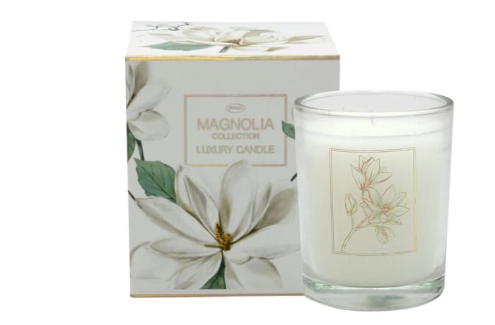 Luxury Candle Magnolia Flower's Collection image