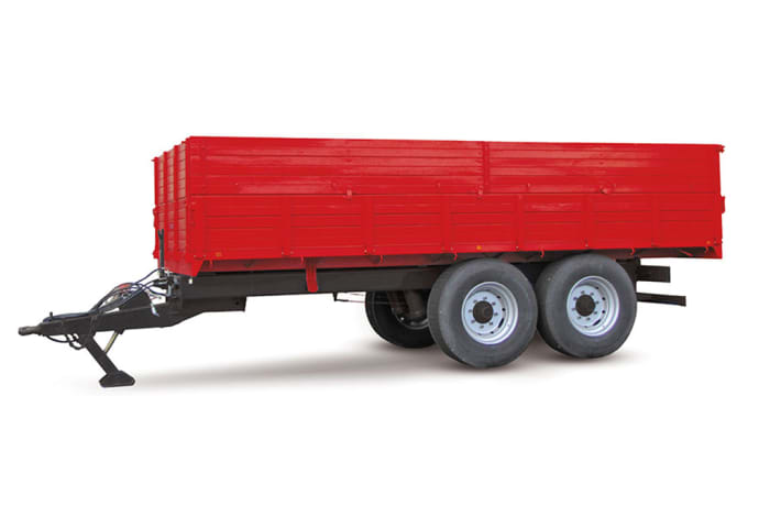 MF Trailer 8 tonne tipping trailer  2 axle image