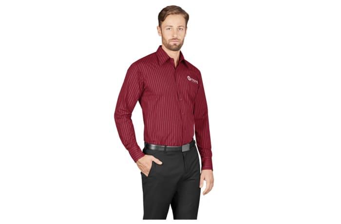 Mens Long Sleeve Manhattan Striped Shirt image