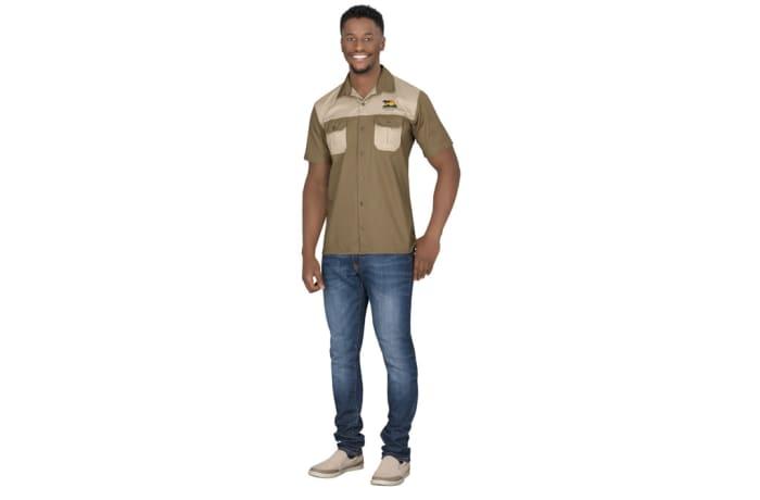 Mens Short Sleeve Saratoga Shirt image