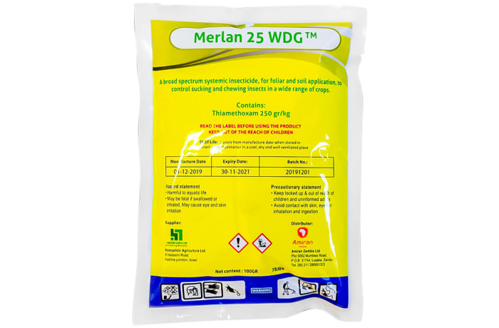 Merlan 25 Wdg  Broad-Spectrum Systemic Insecticide  100g image