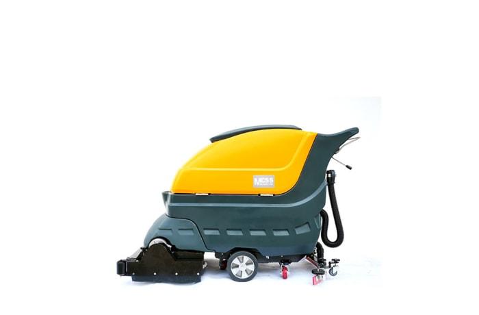 Mc55 Walk behind Industrial Scrubber Sweeper  image