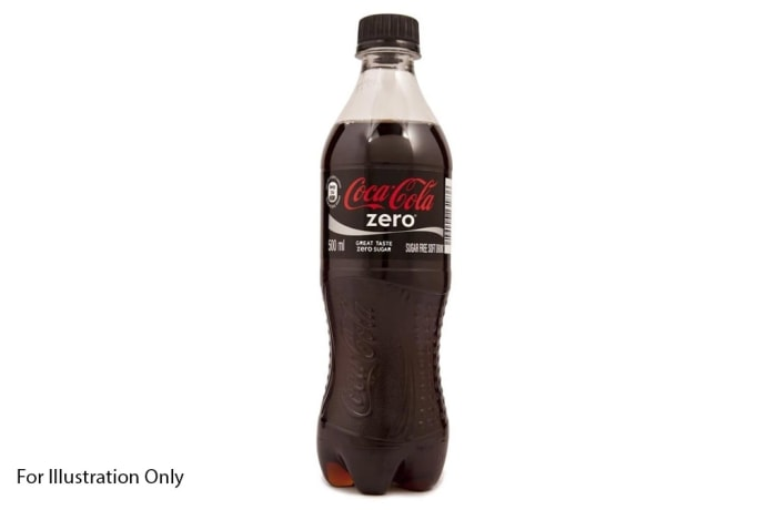 Water & Soda - Coke Zero image