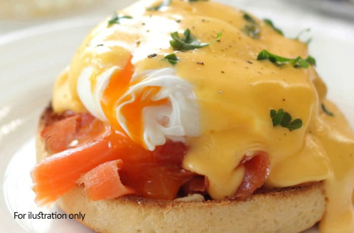 Breakfast - Eggs Benedict image