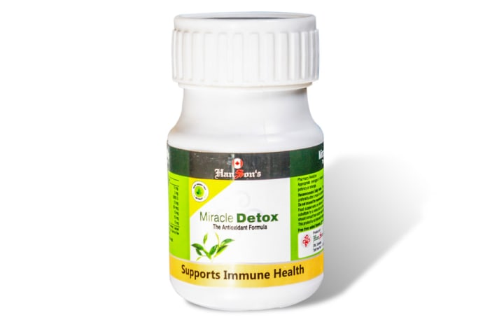 Miracle detox - The Antioxidant Formula image