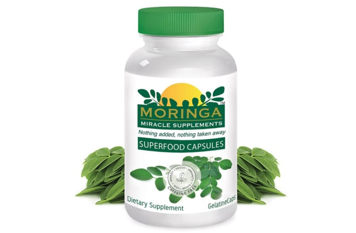 Herbal Extracts  Moringa Superfood Capsules, - 90 image