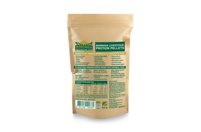 Feed Supplements Organic Superfood   Moringa Livestock Protein Pellets 200g image
