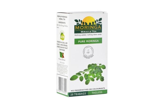 Herbal Tea Organic Superfood Moringa  Original Green Tea image