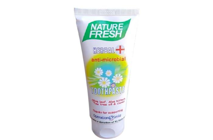Herbal anti-Microbial  Toothpaste No Flouride 100ml image