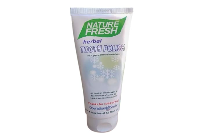 Herbal Tooth Polish anti-Microbial  Herbal Extracts image