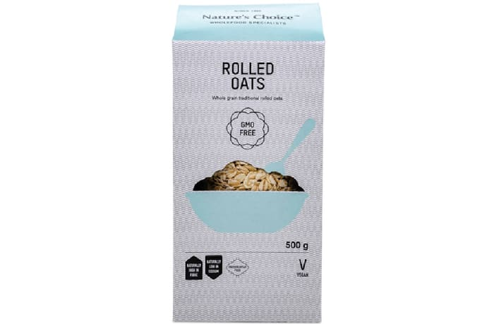 Rolled Oats Vegan  Whole Grain Traditional 500g  image
