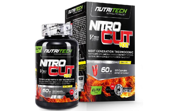 Nitrocut Nxt Men  Next Generation Thermogenic 120 Capsules image