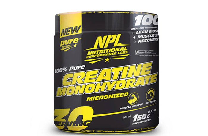 Npl Nutrional  Creatine Monohydrate Micronized  Muscle Strength 150g image