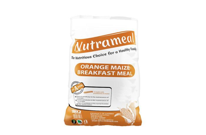 Nutrameal Orange Maize  Breakfast Meal 10kg image