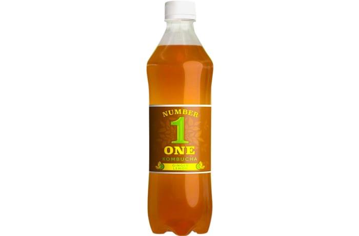 Number 1 One Kombucha  Ginger Lemon Flavour  Health Drink  image