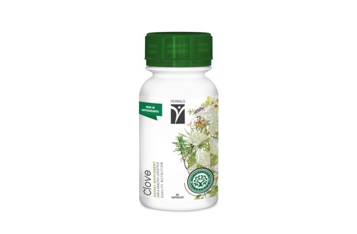 Nutriherb  Clove  Dietary Supplement Capsules  image