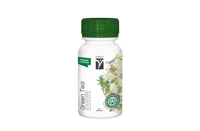 Nutriherb  Green Tea  Dietary Supplement Capsules  image