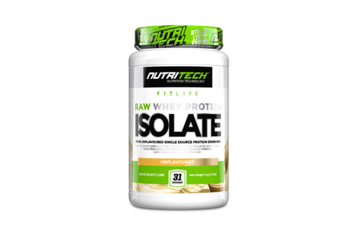 Nutritech  Raw Whey Protein Isolate image