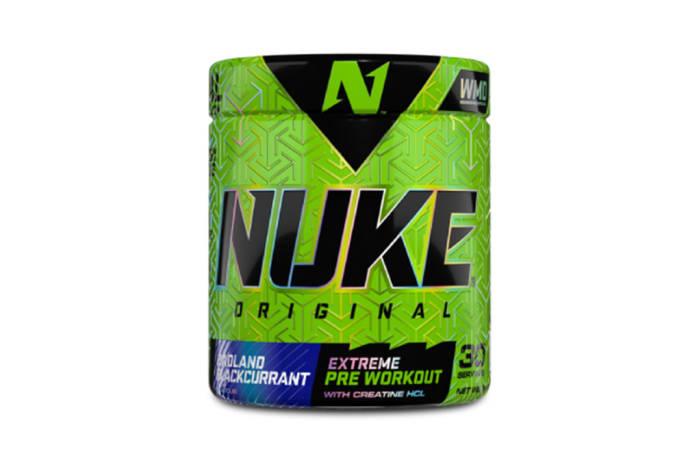 Nutritech  Nuke Original Badland Blackcurrant image