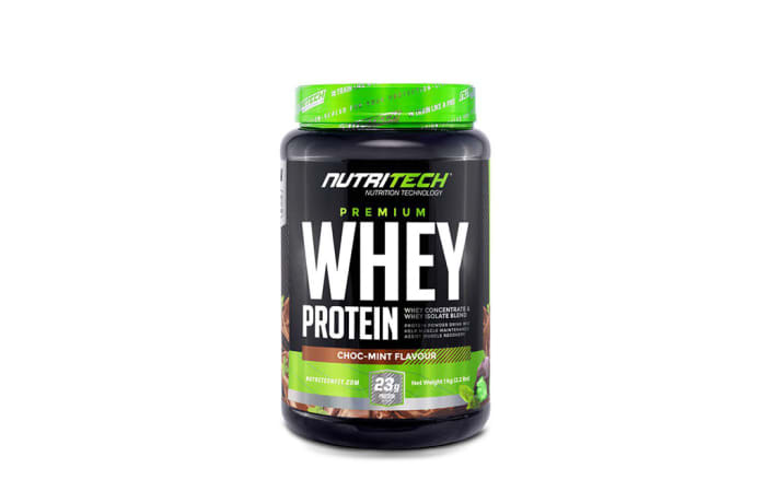 Nutritech  Premium Whey Protein Choc-Mint Flavour  image