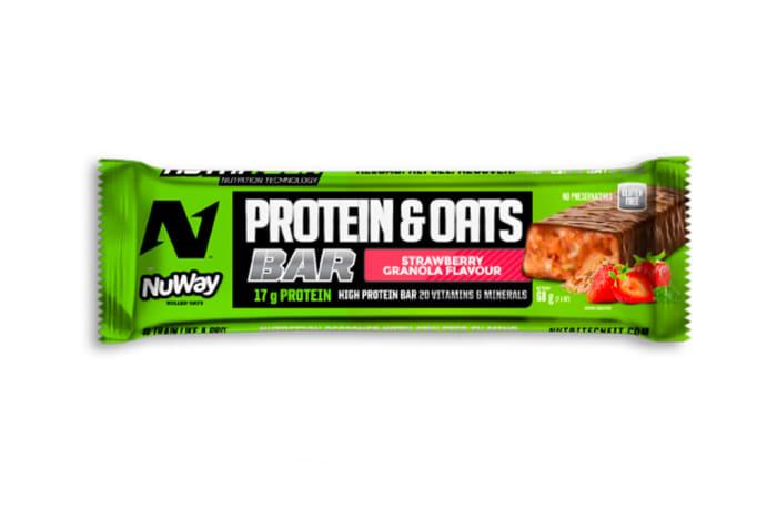 Nutritech Protein & Oats Bar - Strawberry Granola  image