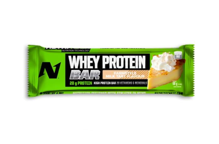 Nutritech Whey Protein Bar - Farmstyle Milk Tart  image