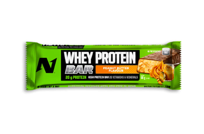 Nutritech Whey Protein Bar - Peanut Butter image