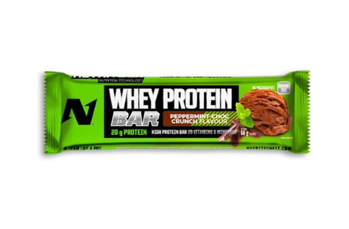 Nutritech  Whey Protein Bar  - Peppermint Choc Crunch image