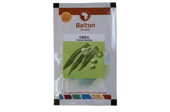 Okra - Clemsom Spineless image
