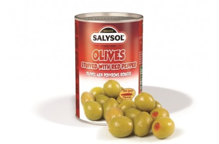 Olives stuffed with Red Pepper image