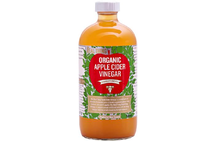 Organic Apple Cider Vinegar Naturally Fermented Juice Condiment image