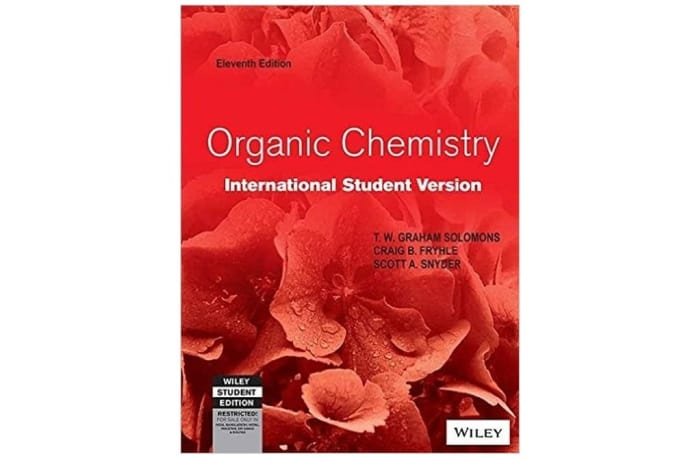 Organic Chemistry 11th Edition image