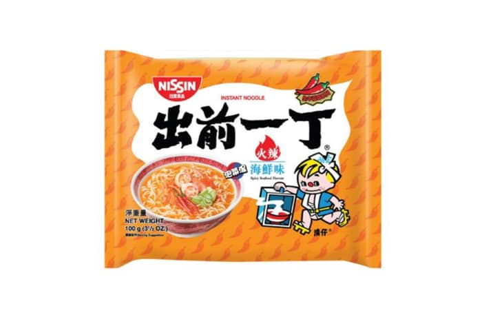 Best Spicy Hot Seafood Instant Ramen Noodles from Nissin 100g image