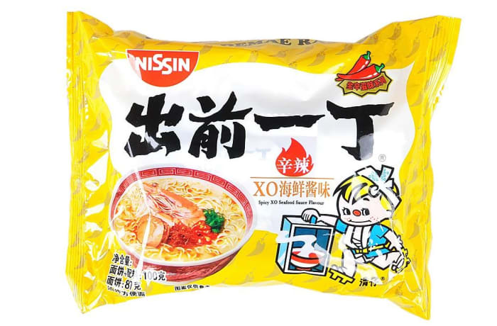 Nissin Brand Ramen Instant Noodles XO Seafood  image