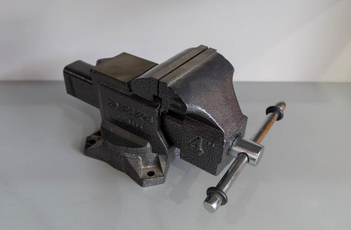 Professional Vise with Anvil image