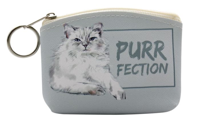 Paws For Thought Coin Purse - Purr-Fection image