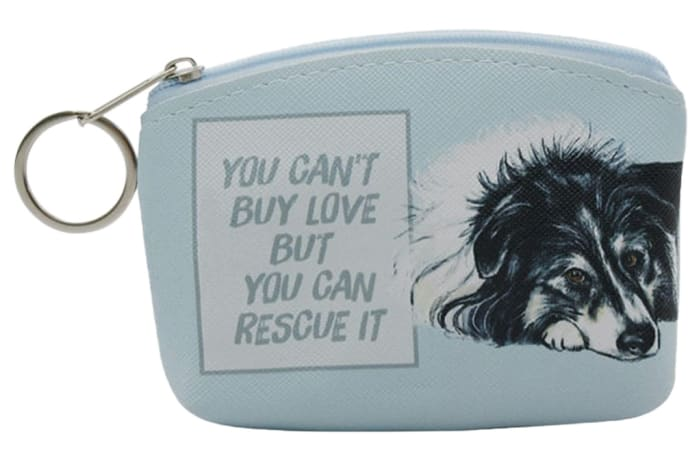 Purses - Paws For Thought Coin Purse - You Can't Buy Love  image