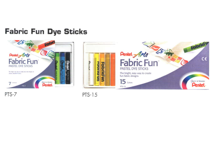 Pental Arts - Fabric Fun Dye Sticks image