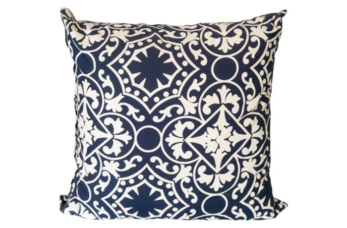 Pillow Sofa & Arm Chair White and Black Cushion image