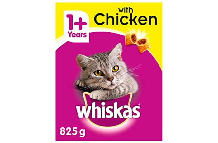 Cat food - Whiskas with chicken 825g image