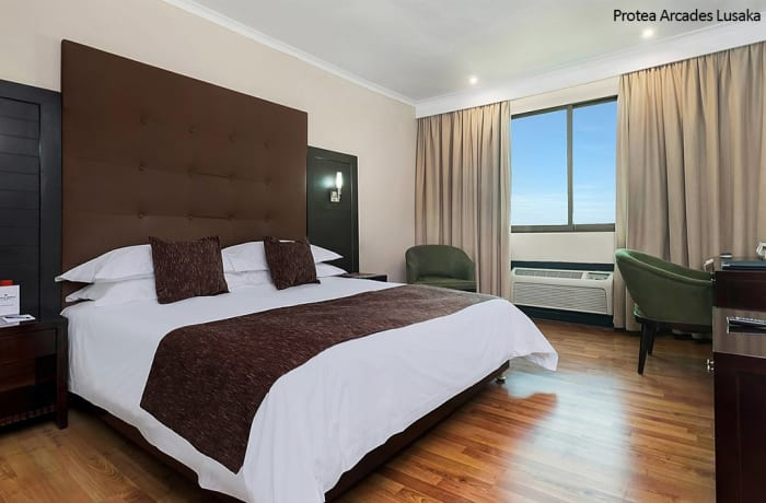 Protea Arcades Lusaka - King Guest Room image