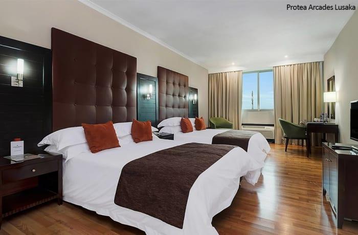 Protea Arcades Lusaka - Queen Guest Room image