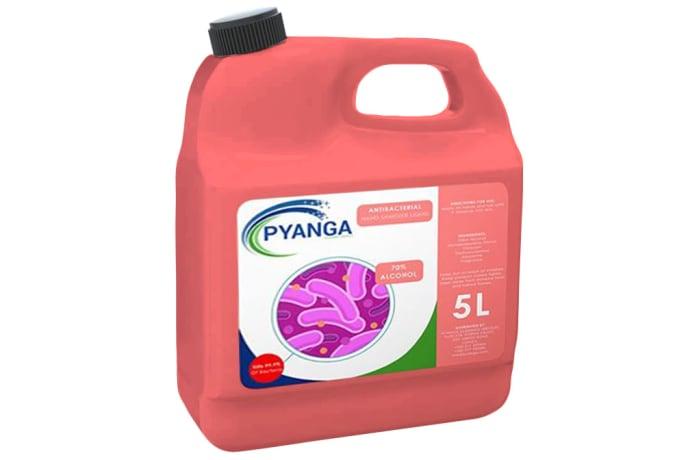 Antibacterial Hand Sanitizer Liquid - 5L image