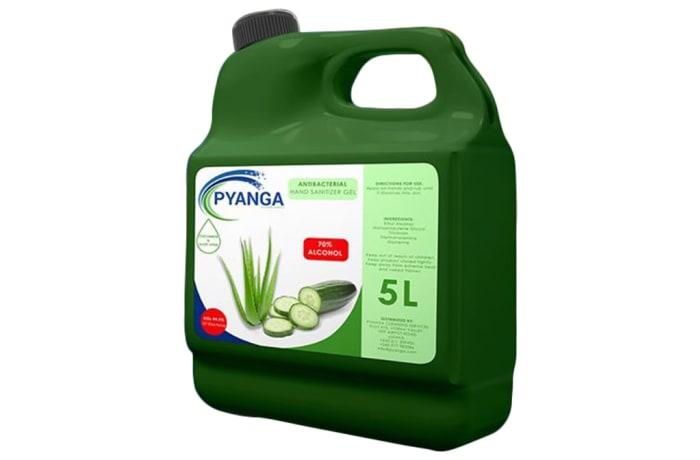 Antibacterial Hand Sanitizer Gel - Aloe Cucumber - 5L image