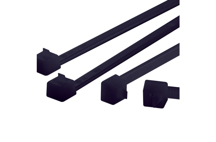 Cable Ties, Releasable  Cable Ties inside Serrated :  Relk2lbk image