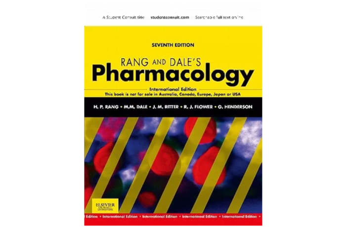 Rang and Dale's Pharmacology 7th Edition image