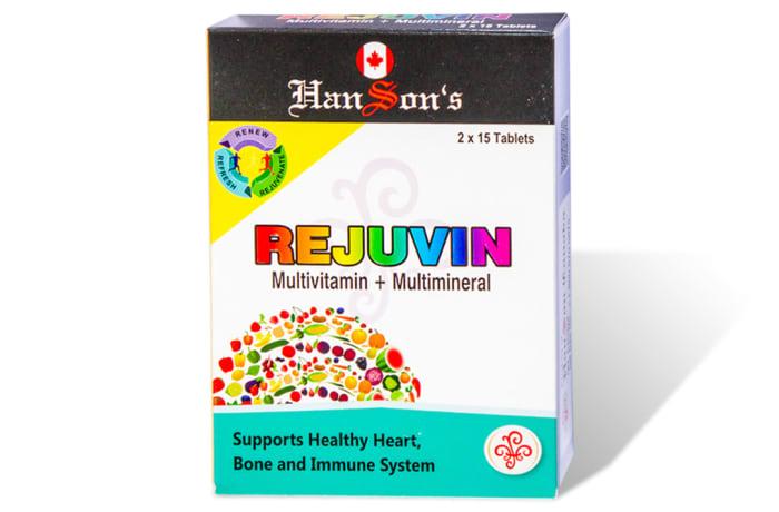 Hanson's Rejuvin (pack) image