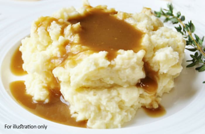 Barbeque Braai Menu - Hots - Mash Potato & Gravy image