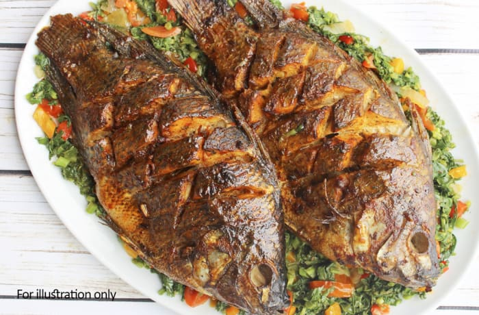 Buffet Menu 2 -  Deep Fried Bream Fish image