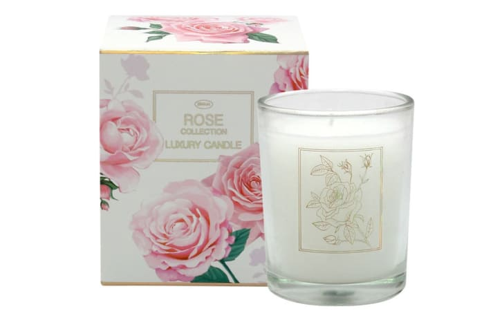 Luxury Candle  Rose Flower's  Fragrance Collection image